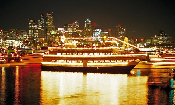 Argosy Cruise - Holiday Lights - Seattle